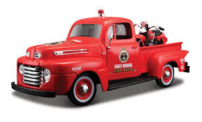 100 Harley Davidson Pickup Truck Amazoncom Maisto 124 1936 EL Knucklehead