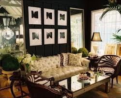 beautiful modern african safari themed living room for hall