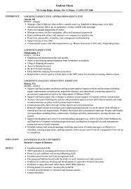 Download Logistics Executive Resume Sample As Image File