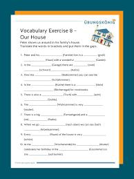 vocabulary vokabelübungen