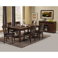 Wayfair Upholstered Dining Room Chairs by Popular Black Wood Dining Table Hover Manhattan Cm Extending