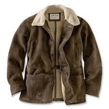 Men s Shearling Barn Coat Shearling Barn Coat Orvis