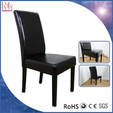 Leather Dining Room Chair High Back Covers Modern Luxury Restaurant Chairs RQ20362 A