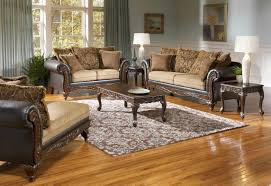 Claremore Antique Sofa And Loveseat by Splurge Chocolate Sofa And Loveseat Living Room Sets
