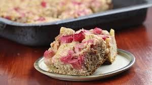 rhabarberkuchen rezepte für rührteig oder hefeteig