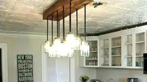 Rustic Linear Chandelier Dining Room Chandeliers Stunning Idea Short