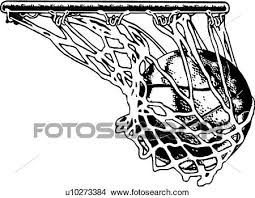 Clipart of Basketball Net u Search Clip Art