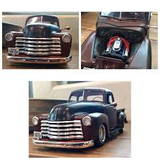Finished Another Model Kit Today. AMT 50 Chevy Truck With A Big ... 1950 Chevrolet 3100 Pickup Classic Car Studio Chevy Truck Wallpapers 50 Images Pickup Custom For The Best In Car Care Products Click Genuine Rawhide Leatherwrapped Rod Authority 1952 47484950525354 Hot Custom Vintage Ratrod Ford Mopar Gasser Tshirts 50 Network Restomod Doug Jenkins Garage Proline Early 50s Painted Blue Body 325500 An Old Chevy Truck In Sep 2009 A 194850 Truck Flickr Tci Eeering 471954 Suspension 4link Leaf Beautiful Orange Taken At T