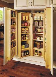 Kitchen Pantry Storage Cabinet Free Standing by Organizer Pantry Shelving Systems For Cluttered Storage Spaces