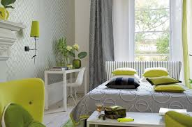 Bedroom Green And Grey