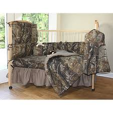 all purpose realtree hd camo baby crib set 7pc