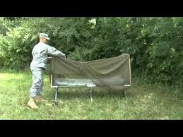 Catoma Bed Net by Deploying A Bed Net With Poles Youtube
