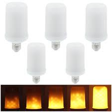 5pcs smd2835 led flickering effect light bulbs sales