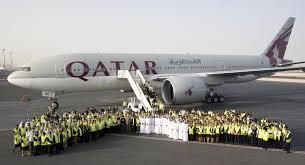boeing 777 extended range qatar airways 2nd boeing 777 200 range aircraft arrives in