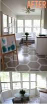 Covering Asbestos Floor Tiles Basement by Best 25 Painted Vinyl Floors Ideas On Pinterest Floor Paint