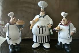 Italian Chef Kitchen Wall Decor by Kitchen Room Marvelous Fat Chef Figurines Kitchen Wall Decor