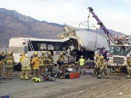 Authorities: No Sign Of Braking By Bus Driver In Calif. Bus Crash ... Semitruck Accidents Shimek Law Accident Lawyers Offer Tips For Avoiding Big Rigs Crashes Injury Semitruck Stock Photo Istock Uerstanding Fault In A Semi Truck Ken Nunn Office Crash Spills Millions Of Bees On Washington Highway Nbc News I105 Reopened Eugene Following Semitruck Crash Kval Attorneys Spartanburg Holland Usry Pa Texas Wreck Explains Trucking Company Cause Train Vs Semi Truck Stevens Point Still Under Fiery Leaves Driver Dead And Shuts Down Part Driver Cited For Improper Lane Use Local