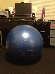 Gaiam Balance Ball Chair Replacement Ball by Fitness Ball Chair Design