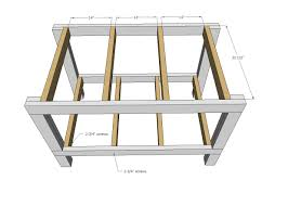 ana white easy diy garage workshop workbench diy projects