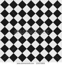 Black And White Checkered Floor Tiles With Texture This Seamlessly As A Pattern View Preview