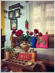 Indian Living Room Carved Furniture