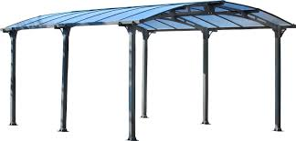 Palram Feria Patio Cover Uk by Amazon Com Palram Arcadia 5000 Carport U0026 Patio Cover 16 X 12 X 8