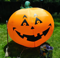 Halloween Yard Inflatables 2014 by Money In The Garage October 2014