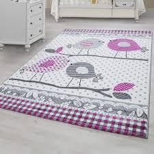 tapis pour chambre tapis pour chambre bebe fille lila et gris