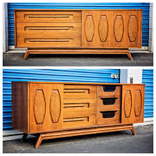 Kent Coffey Blonde Dresser by Beautiful Very Rare And Unique Young Mfg Co Mid Century Modern