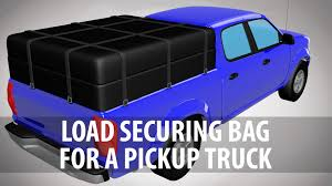 Load Securing Bag For A Pickup Truck | Products