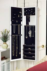 291 Best Jewelry Armoire Images On Pinterest | Jewelry Armoire ... Fniture Ikea Storage Unit Mirrored Armoire Wardrobe Free Decor Classy Brown Mahogany Wood Finish Belham Living Swivel Best Cabinets Reviews 5stardealreviewscom Bcp Handcrafted Wooden Jewelry Box Organizer Cabinet Bedroom Extraordinary Closet Design Awesome Thin White With Drawers Sauder Homeplus Hayneedle 74 Off Large Carved Inval America Harbor View Antiqued Sturdy Pottery Barn Threestemscom Baxton Studio Vittoria Square Foot Floor