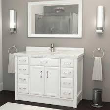 46 Inch Bathroom Vanity Canada by Single Sink Vanities Costco