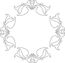 Rangoli Pattern Printable Template Coloring Pages