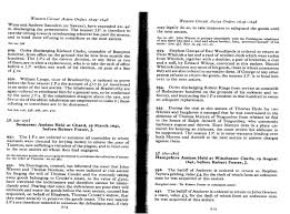 Excerpts Somerset Assizes Held At Chard 29 March 1641 Before Robert Foster J Western Circuits Orders 1629 1648 Pp 214 215
