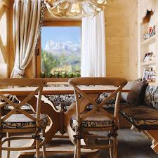 Rustic Italian Home Space With Cozy And Inviting Wood Furniture