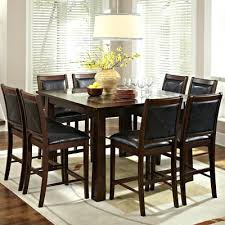 Counter Height Dining Sets 9 Piece Set Black