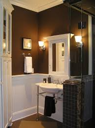 Best Paint Color For Bathroom Walls by Best 25 Brown Bathroom Paint Ideas On Pinterest Brown Bathroom
