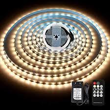 led streifen 5m warmweiss led light mit fernbedienung 12v netzteil kwode 3000k weiß band leiste selbstklebend tv led stripes wohnzimmer