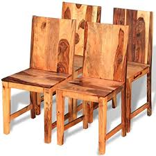 vidaxl 4x sheesham holz palisander esszimmerstuhl küchenstuhl essstuhl stuhl
