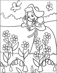 Drawings For Kids On Spring Season Drawing Of Art Library
