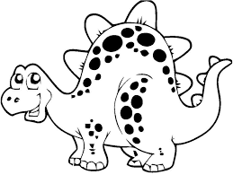 Free Funny Dinosaur Coloring Pages Printable