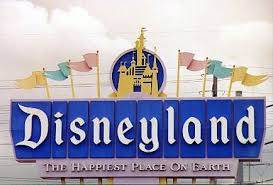 The font of the Disneyland sign is Blackletter This typeface is