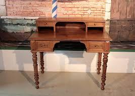bureau à gradin bureau à gradin louis philippe en chêne xixeme antiquites lecomte