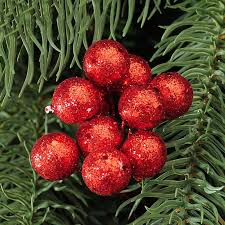 Christmas Tree Hanging Baubles Fruit Ball Event Party Ornament Red Sliver Gold Decorations For Home 10Pcs Lot In Pendant Drop Ornaments From