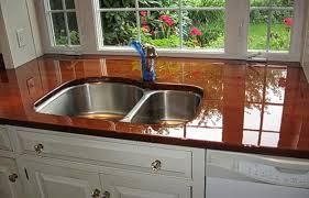 Poured Epoxy Flooring Kitchen by Epoxy Countertops Counter Top Epoxy