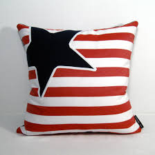 Decorative Outdoor Lumbar Pillows by Nautical Pillow Cover Red White Blue Outdoor Pillows