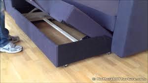 Friheten Corner Sofa Bed With Storage by Ikea Manstad Sofa Bed Design Youtube