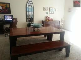 Dining Table With 2 Benches From Marina Exotic