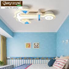 qiseyuncai einfache ideen kinderzimmer augen decke lichter anker kindergarten jungen mädchen studie zimmer schlafzimmer len