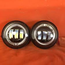 4 5 auxiliary daymaker black spot with halo passing hid led fog